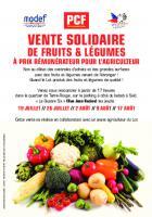 VENTE SOLIDAIRE DE FRUITS & LÉGUMES
