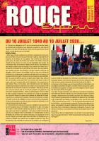 Rouge Espoir 99 - Supplément n° 4 - 16 juillet 2020