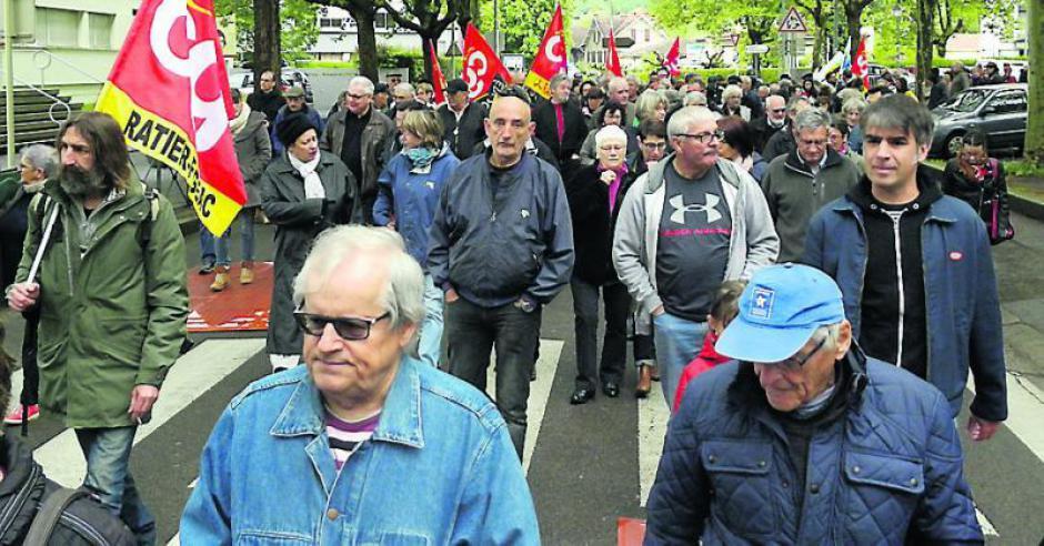 450 personnes sur les pavés du 1er-mai - 2018.05.02