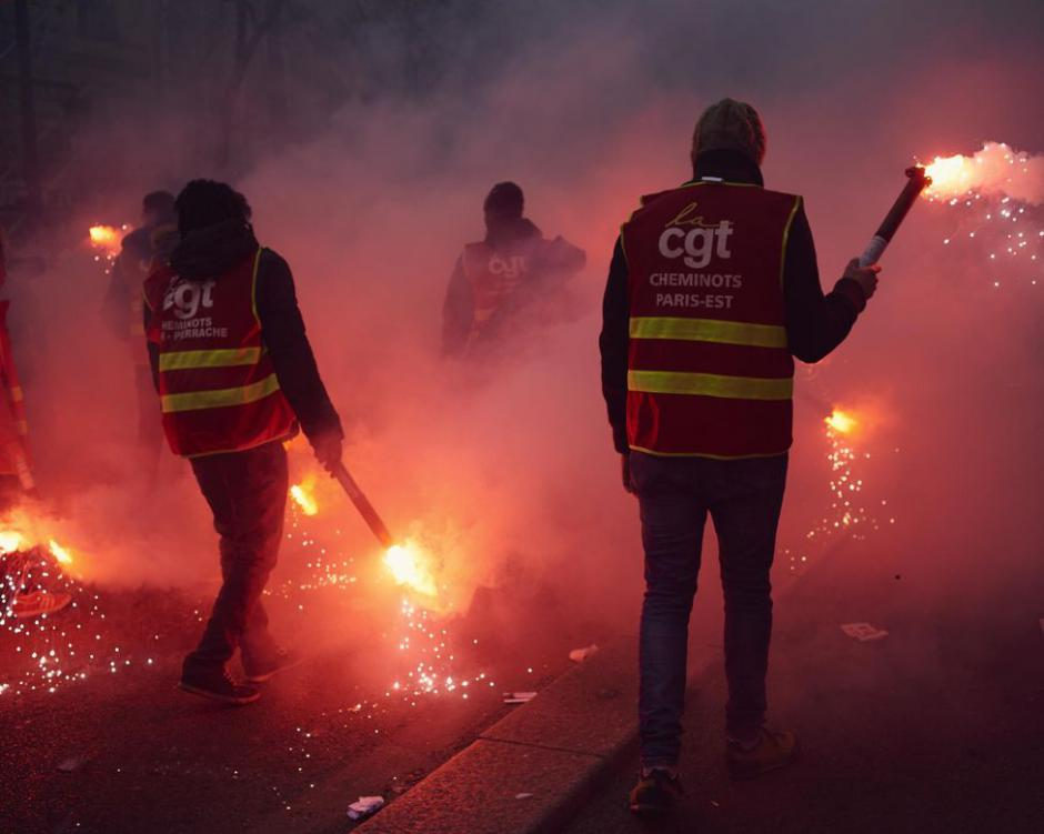 Le PCF 46 Solidaire des Cheminots !