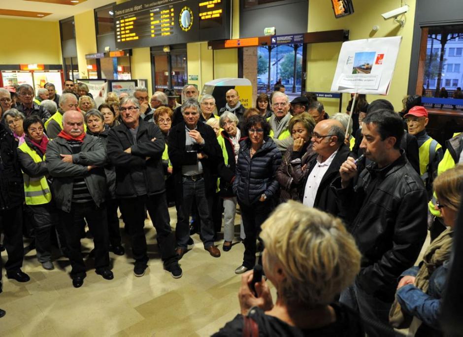 Pour la gare, une nouvelle lutte est en marche - La Dépêche du Midi - Samedi 22 novembre 2014