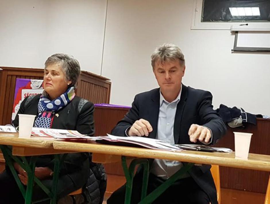 Fabien Roussel, invité des communistes lotois pour parler de budget - 2017.12.09