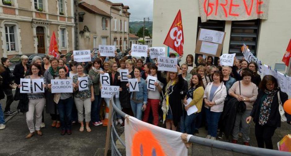 Une grève pour une gestion plus humaine - 2018.06.08
