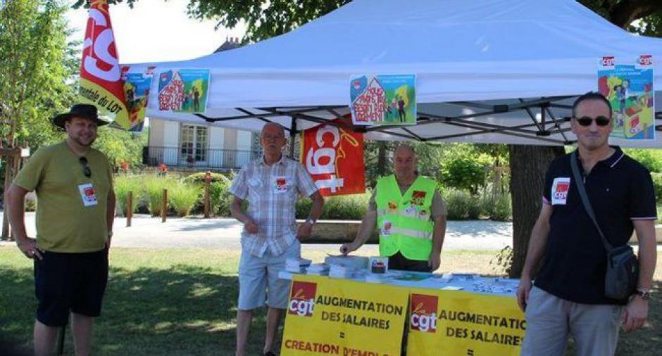 La CGT informe les travailleurs saisonniers // 21 juillet 2018