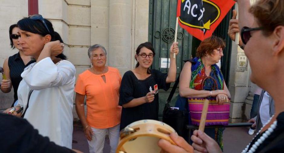 Les grévistes de Saint-Céré haussent le ton à Cahors // 2018.09.05