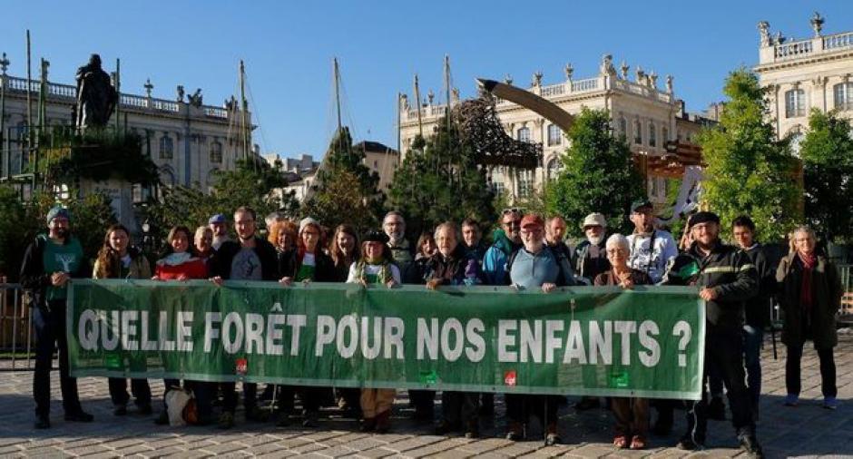 Mobilisation syndicale à l'ONF ! // 2018.10.04