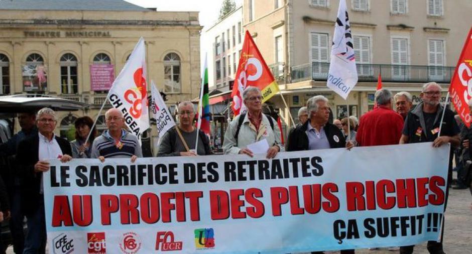 Retraités : 200 manifestants à Cahors // 2018.10.19