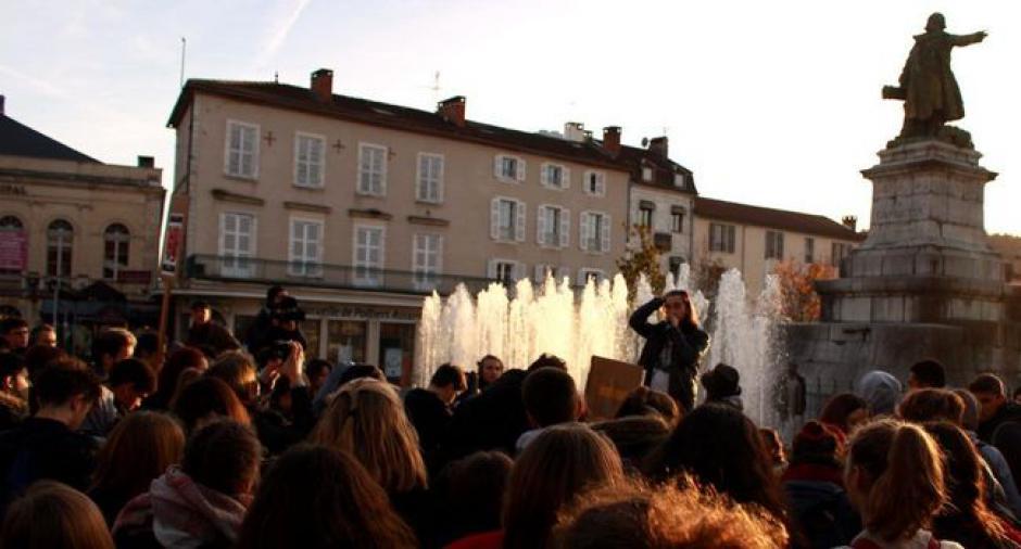 Cahors : une agora recherchée par les lycéens // 2018.12.12
