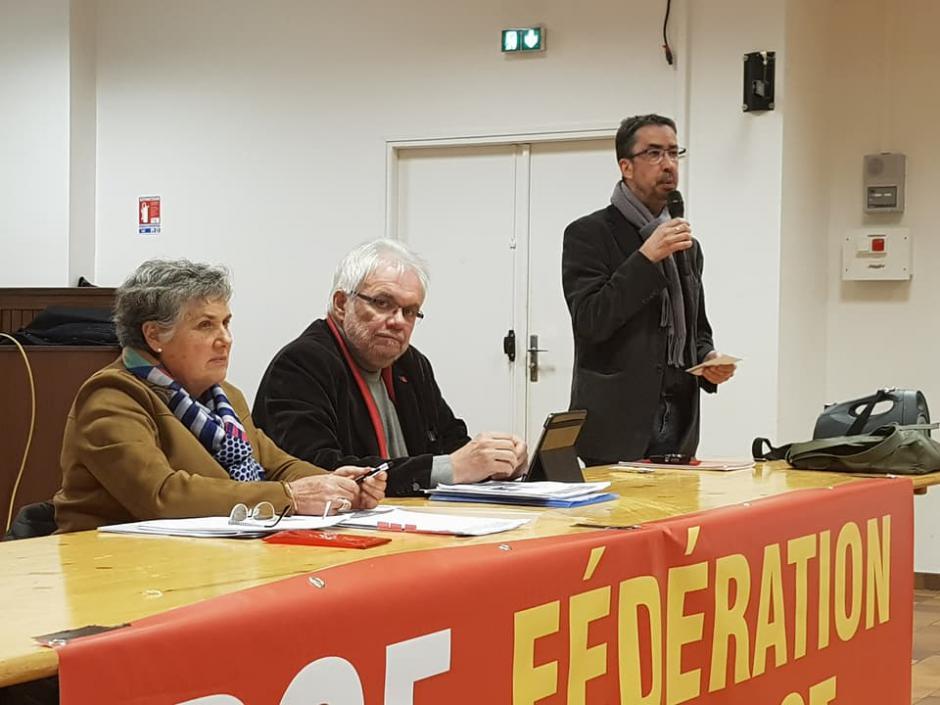 Le PCF 46 a reçu les élu(e)s régionaux communistes ! - 2018.02.27
