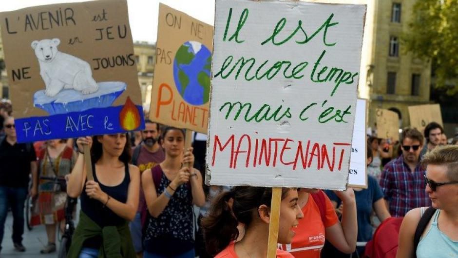 Marche pour le Climat ce Vendredi 15 mars à 15h sur les allées Fénelon à Cahors.