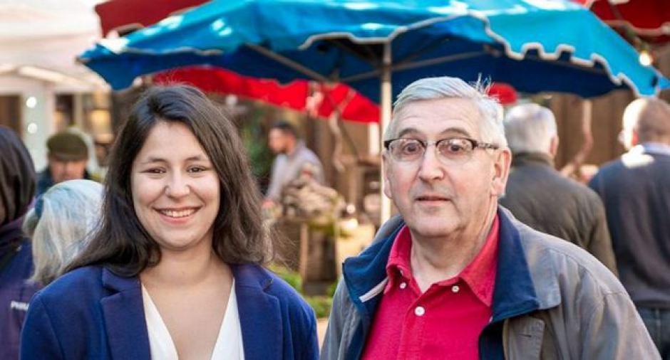 Fanny Beggiato, génétiquement militante Élections législatives - Front de gauche - 2017.05.31
