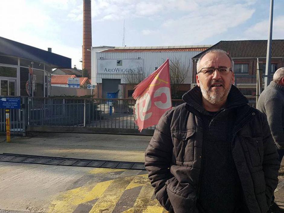 Franck Saillot le 5 avril à Saint-Céré