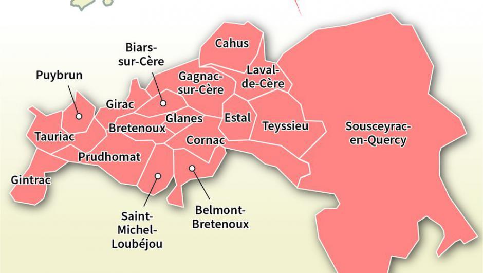 Élections départementales dans le Lot : duel à gauche dans le Cère et Ségala // 2021.06.03