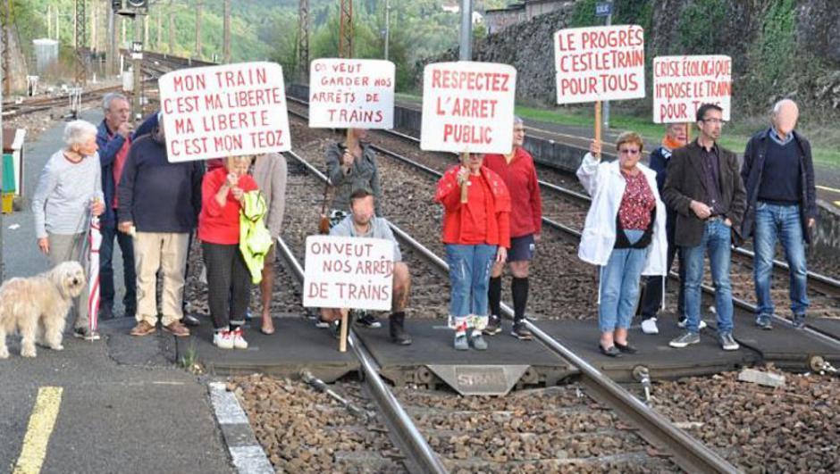 Gourdon. Défense des gares : des avancées mais la lutte continue // 2019.11.27