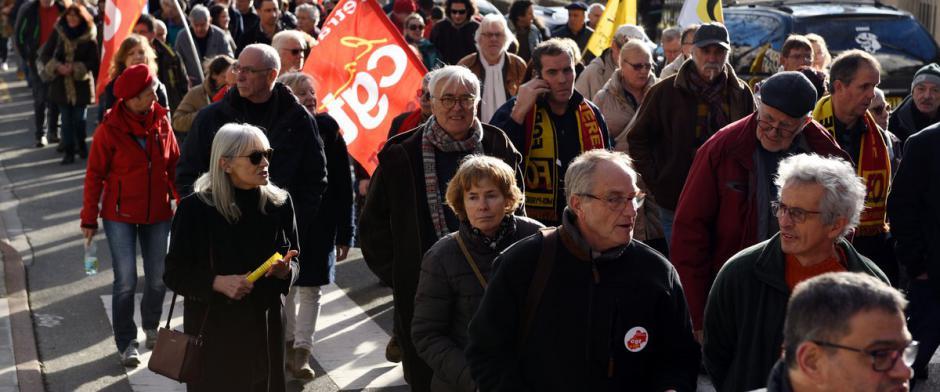 Deux manifestations dans le Lot aujourd'hui // 2020.01.16