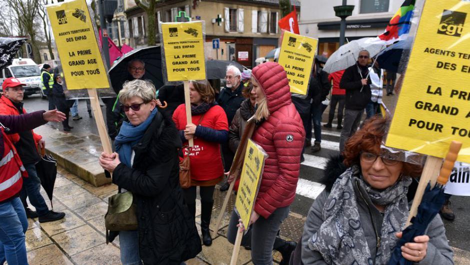 140 manifestants à Cahors et Figeac // 2020.02.28