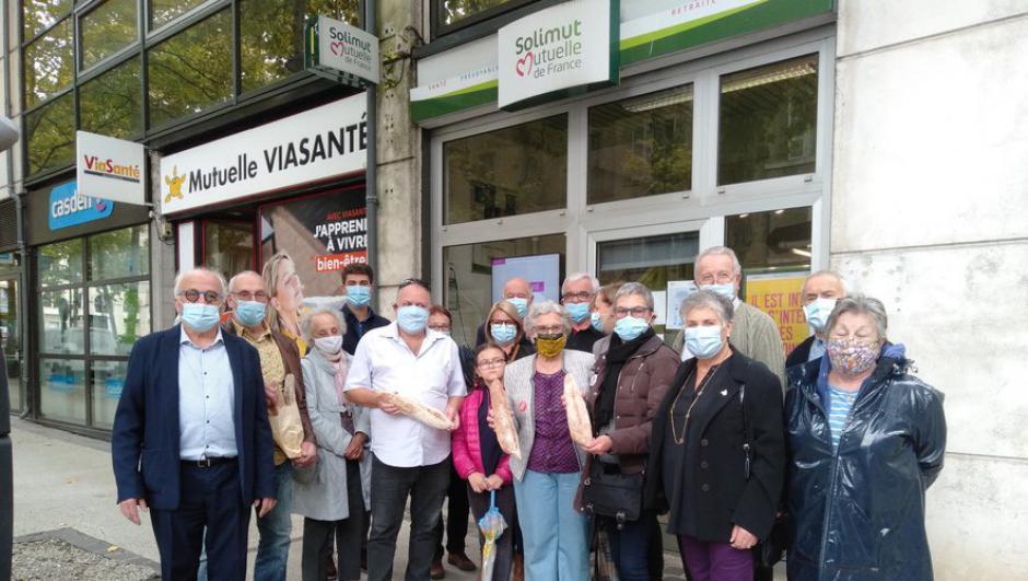 Cahors. 1 200 baguettes pour les plus démunis // 2020.10.24