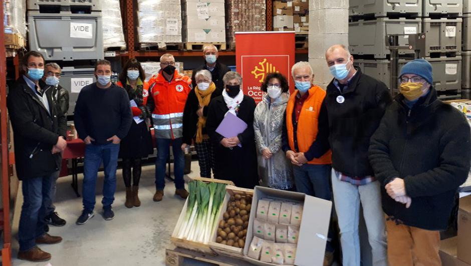 Cahors : une sixième livraison pour la Banque alimentaire // 2020.12.20