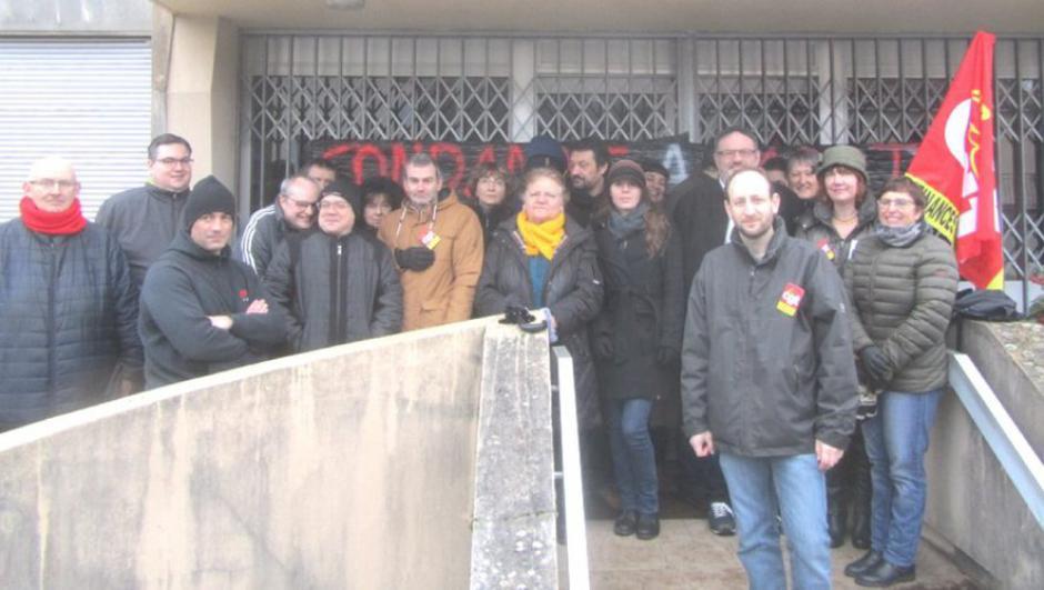 Le Centre des finances publiques bloqué // 2019.02.08