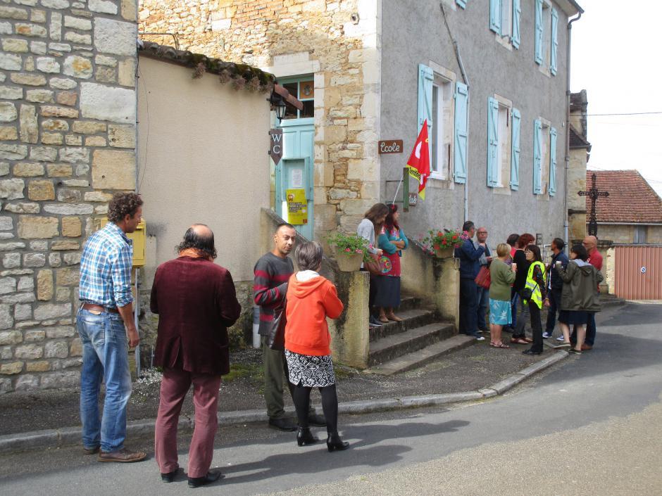 Non à l'ouverture d'une école privée à Rouffilhac ! // 2018.07.04