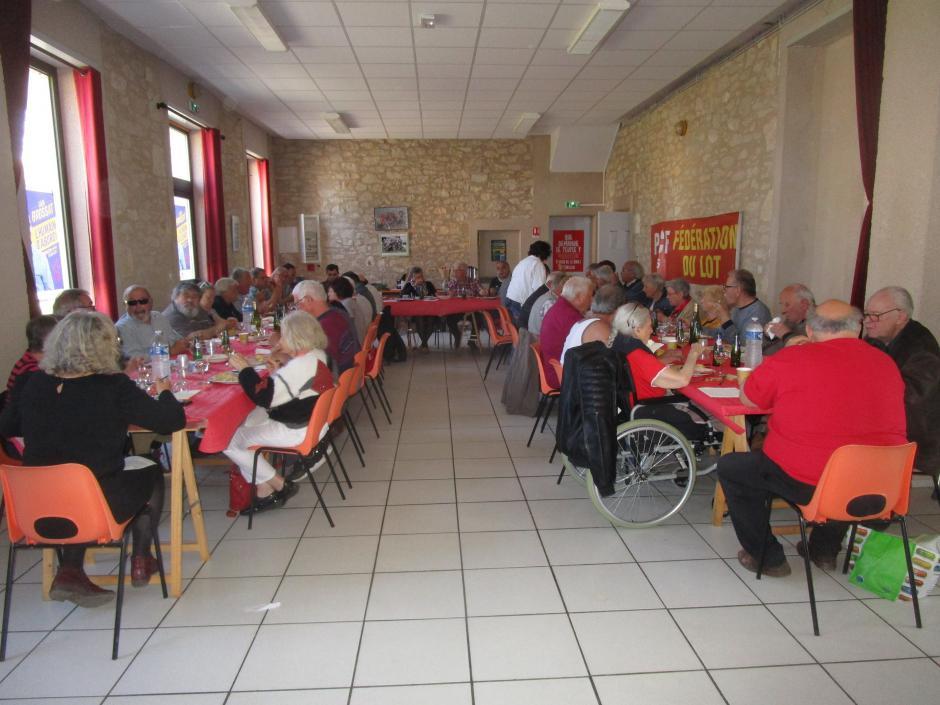 Repas des vétérans le 30 mars 2019 à Francoulès