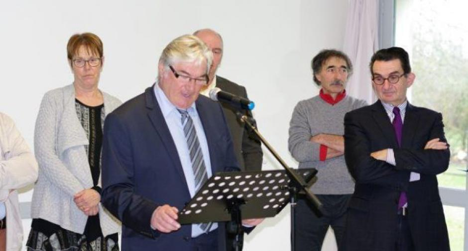 Jean-Claude Sauvier, maire communiste de Laburgade.