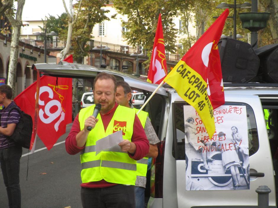 Stop à la répression syndicale et politique ! // 2018.08.31