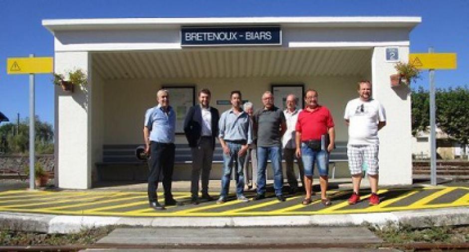 PCF : Lot, Cantal, Corrèze contre le schéma ferroviaire - 2016.10.02