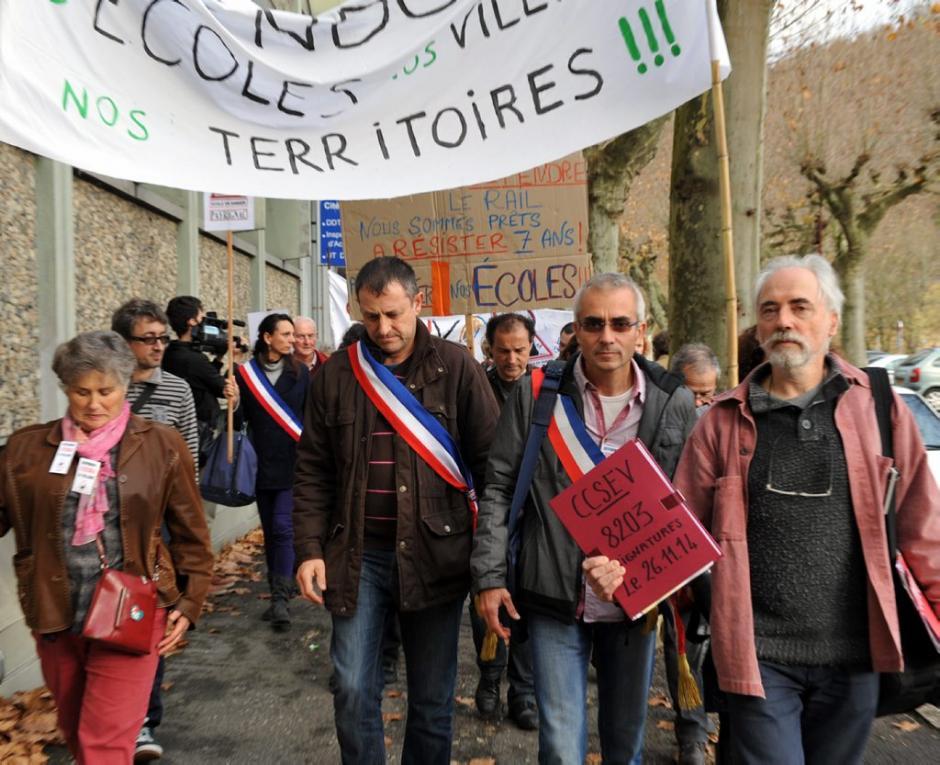 «Nous ne lâcherons pas le mouvement !» - La Dépêche du Midi - Jeudi 27 novembre 2014