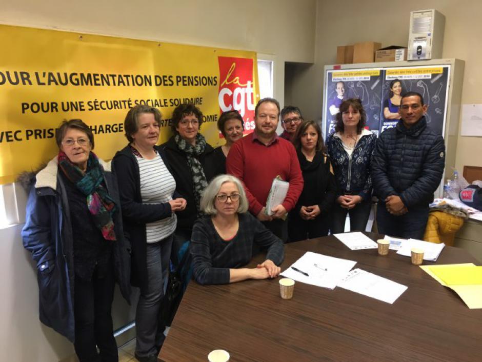 Cahors : Appel à manifester pour les EHPAD, les services d'aide à domicile et les retraités - 2013.03.13