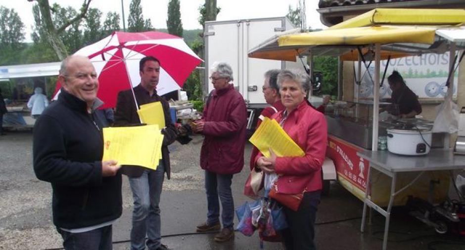 Une pétition pour sauver la trésorerie - 2016.05.13