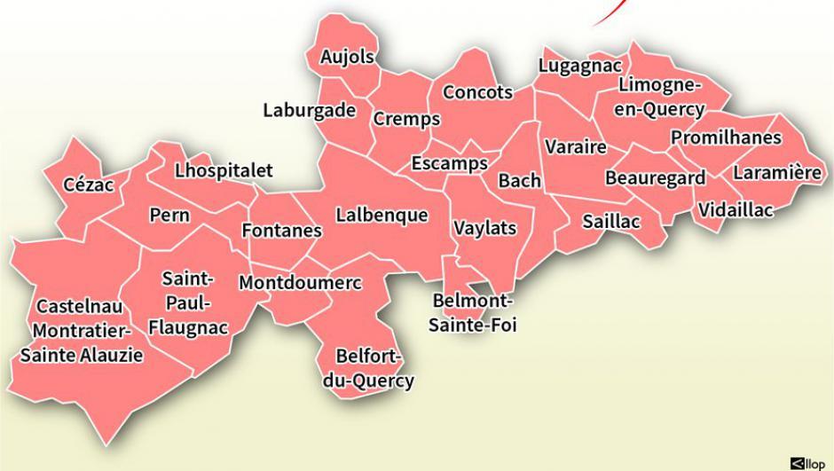 Élections départementales dans le Lot : sur le canton de Marche du Sud-Quercy, cinq binômes s'affrontent // 2021.06.11