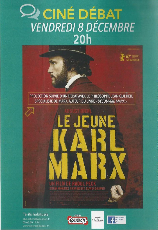 Le jeune Karl Marx - 8 décembre 2017