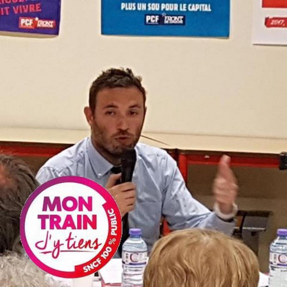 Thomas Portes le 20 avril à Cahors, Bourse Du Travail