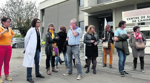 Mouvement de grève à l'institut Camille Miret // 2019.04.17