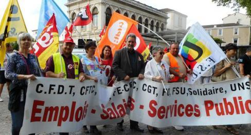 Grève des fonctionnaires : 750 Lotois se sont mobilisés - 2018.05.23