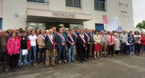 L'hôpital Louis-Conte mobilise à nouveau - 2018.06.22