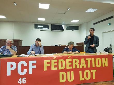 Les vœux du PCF du Lot. Serge Laybros plaide pour une ruralité vivante ! // 2019.01.03
