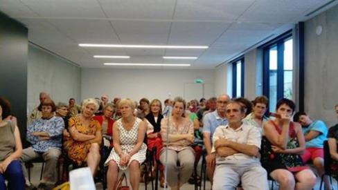 Pierre Bergounioux à Cahors avec les Amis de l'Humanité, un succès ! // 2018.07.23
