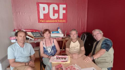 Figeac. Les candidats PC toujours combatifs // 2021.06.17