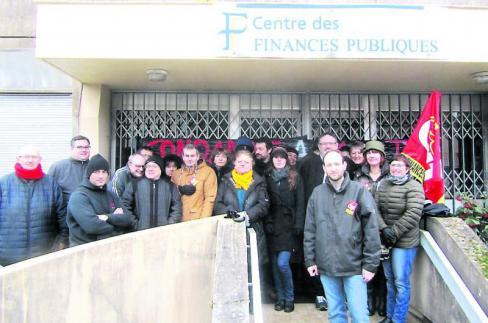 La grève se poursuit aux finances publiques // 2019.02.14