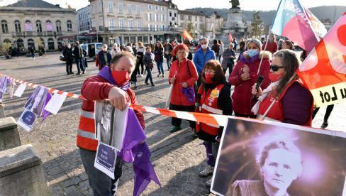 Cahors. 50 personnes pour le droit des femmes // 2021.03.09