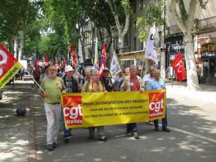 14 juin : retraités en colère !