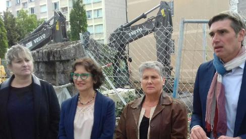 Cahors. 17 futurs logements locatifs en lieu et place de l'ancienne DREAL démolie // 2019.10.04