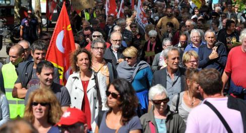 1400 manifestants dans les rues - 2017.09.13