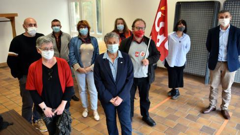 Marie Piqué, vice-présidente de la Région, concentrée sur l'essentiel dans le Lot : la santé et la solidarité // 2021.04.29